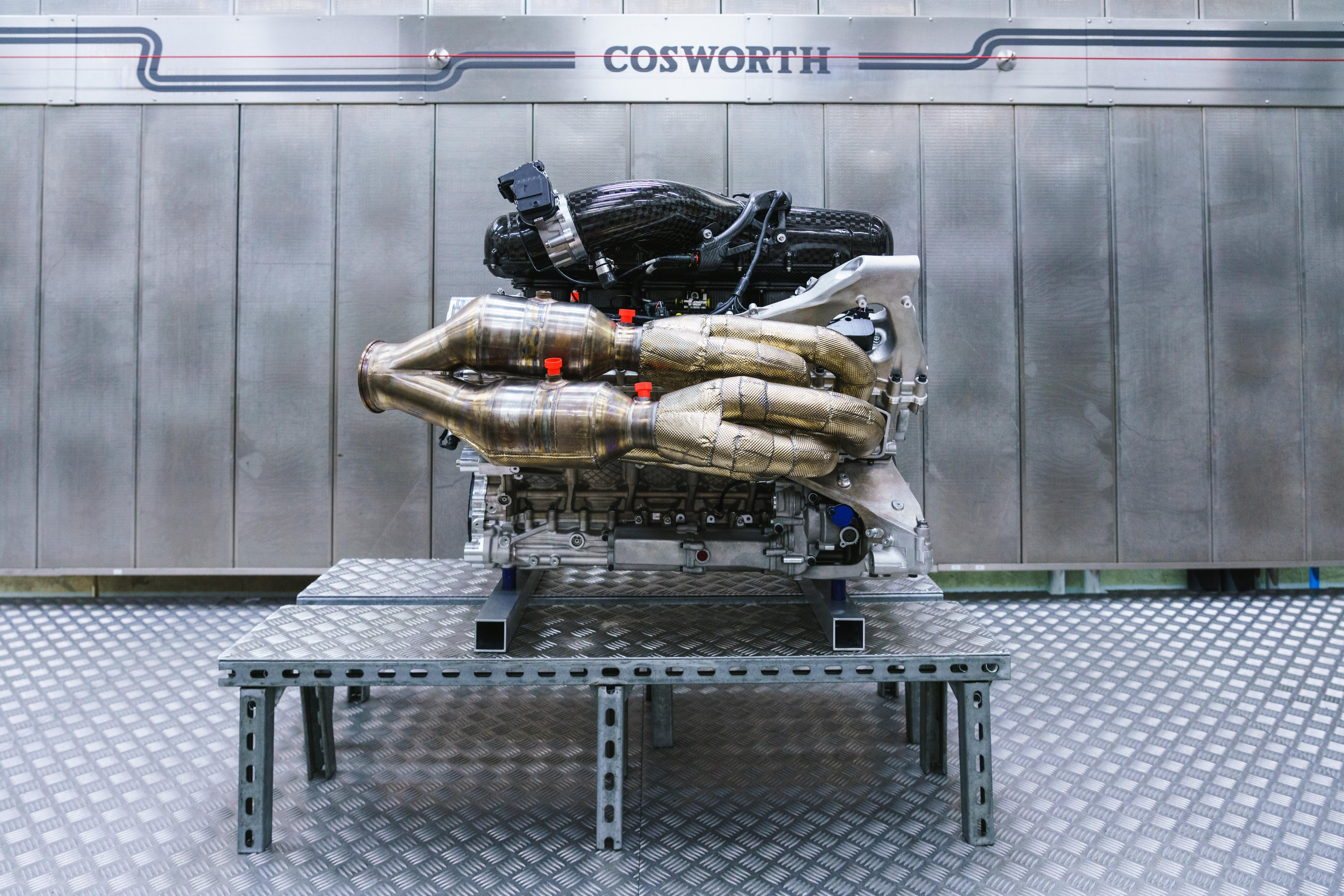 Aston Martin Valkyrie Engine 1000 Hp Cosworth V12 With Hybrid Assist To Power Aston Martin