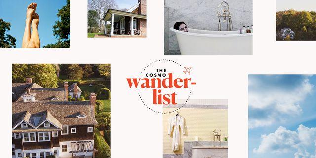 the cosmo wander list amagansett hotels