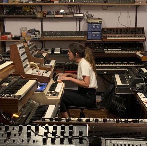 Electronic instrument, Music workstation, Musical instrument accessory, Musical keyboard, Electronic musical instrument, Keyboard player, Analog synthesizer, Musical instrument, Technology, Synthesizer,