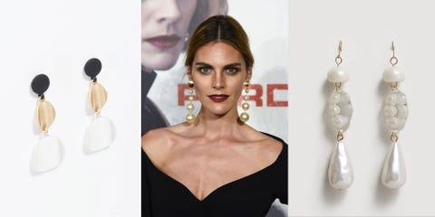 Hair, Face, Hairstyle, Beauty, Skin, Blond, Fashion accessory, Earrings, Lip, Jewellery,