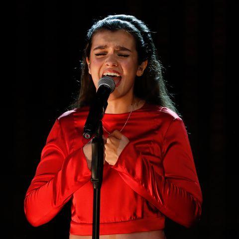 Amaia en la gala de los Goya 2020