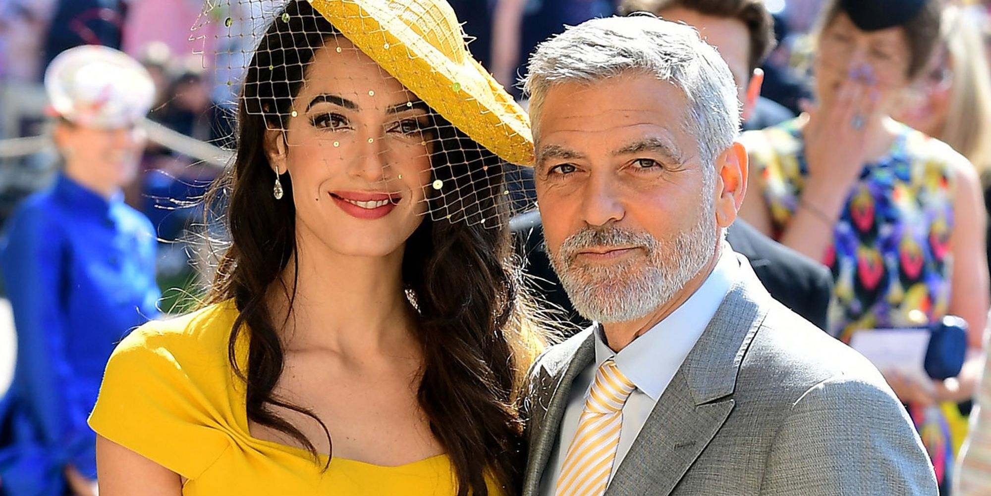 Image result for MEGHAN MARKLE GEORGE CLOONEY