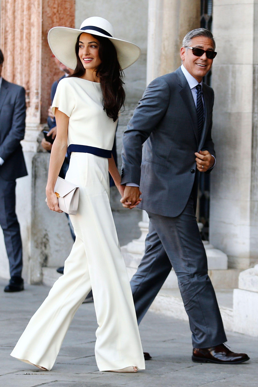 Amal Clooney Royal Wedding.George And Amal Clooney To Attend The Royal Wedding The Clooney S