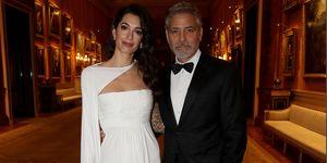 Amal Clooney Buckingham Palace