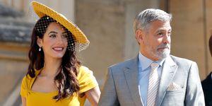 Bruiloftsseizoen in aantocht: schitter in de mosterdgele jurk van Amal Clooney. Gezien bij de huwelijksceremonie van prins Harry en Meghan Markle.