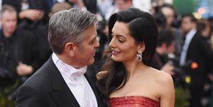 Amal Clooney at the Met Gala