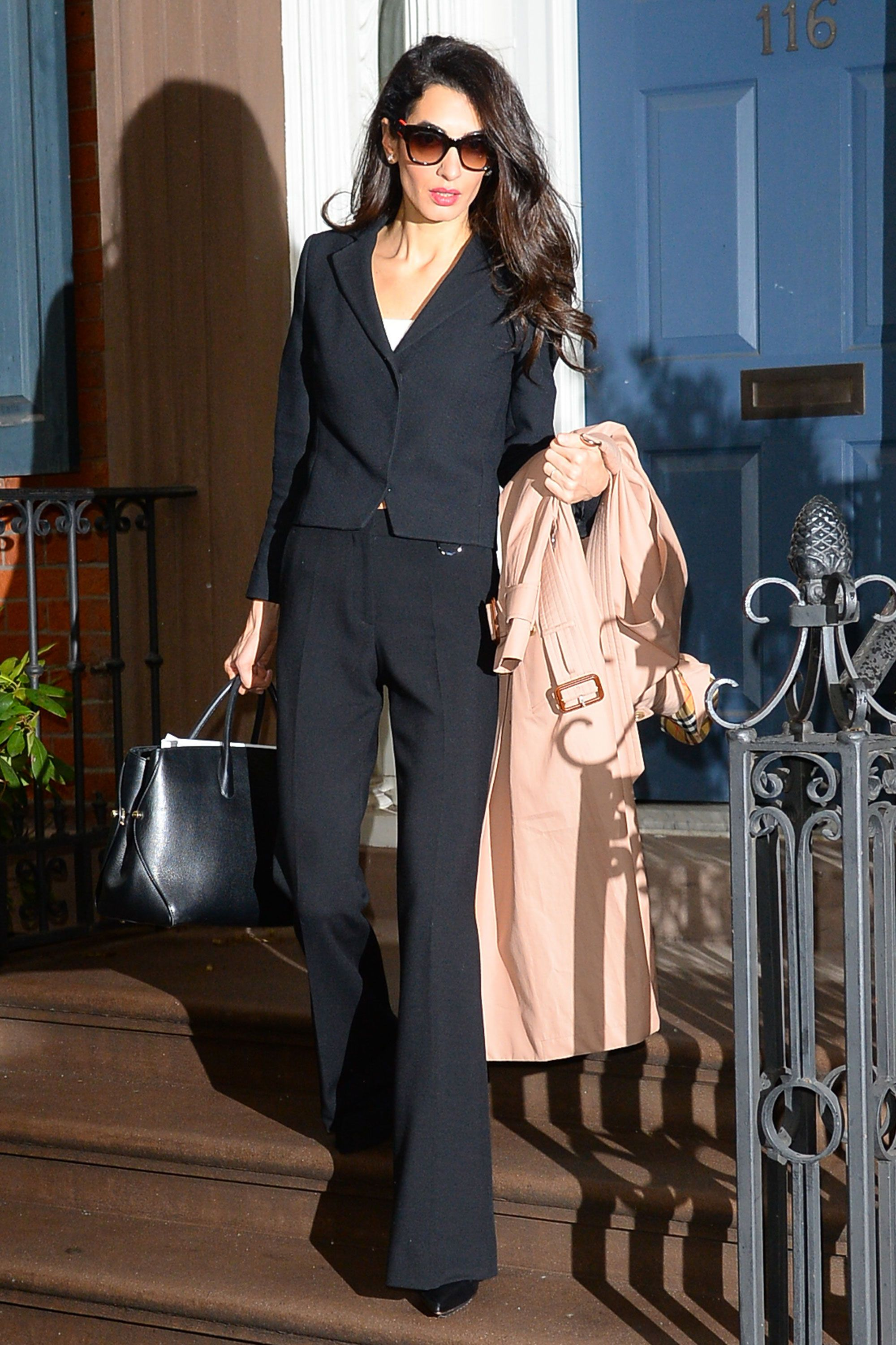 10 workwear style lessons to steal from Amal Clooney ...