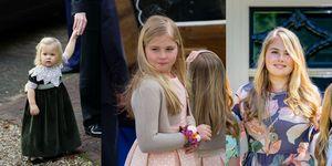 prinses amalia door de jaren heen