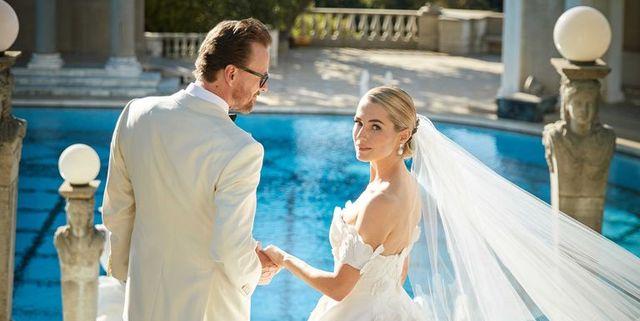 Inside Amanda Hearst and Joachim Rønning's beautiful Hearst Castle wedding