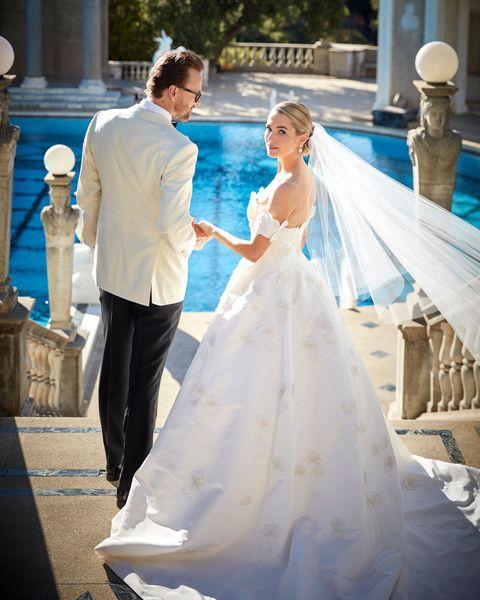 amanda hearst wedding castle