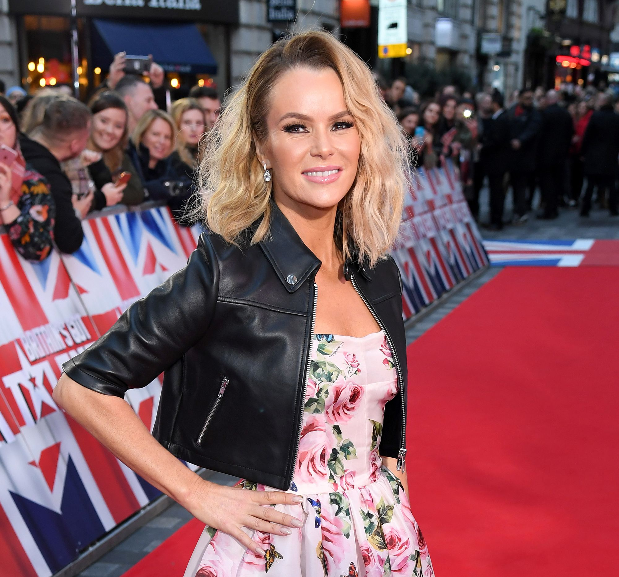 Amanda Holden Reveals How She Stays In Shape, Her Top Skincare Tip And Her New Project