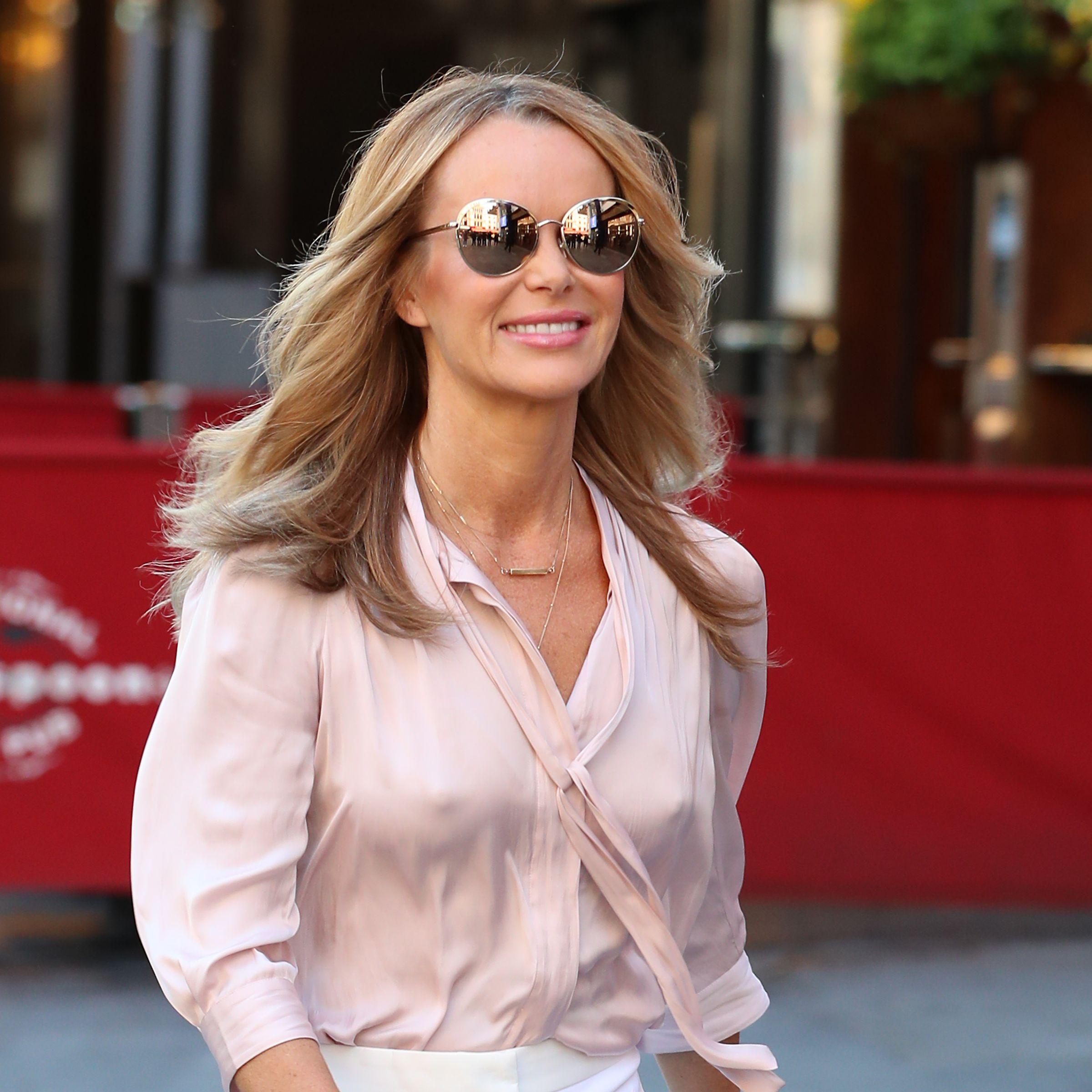Amanda Holden's £39.99 Zara polka-dot dress is perfect summer chic