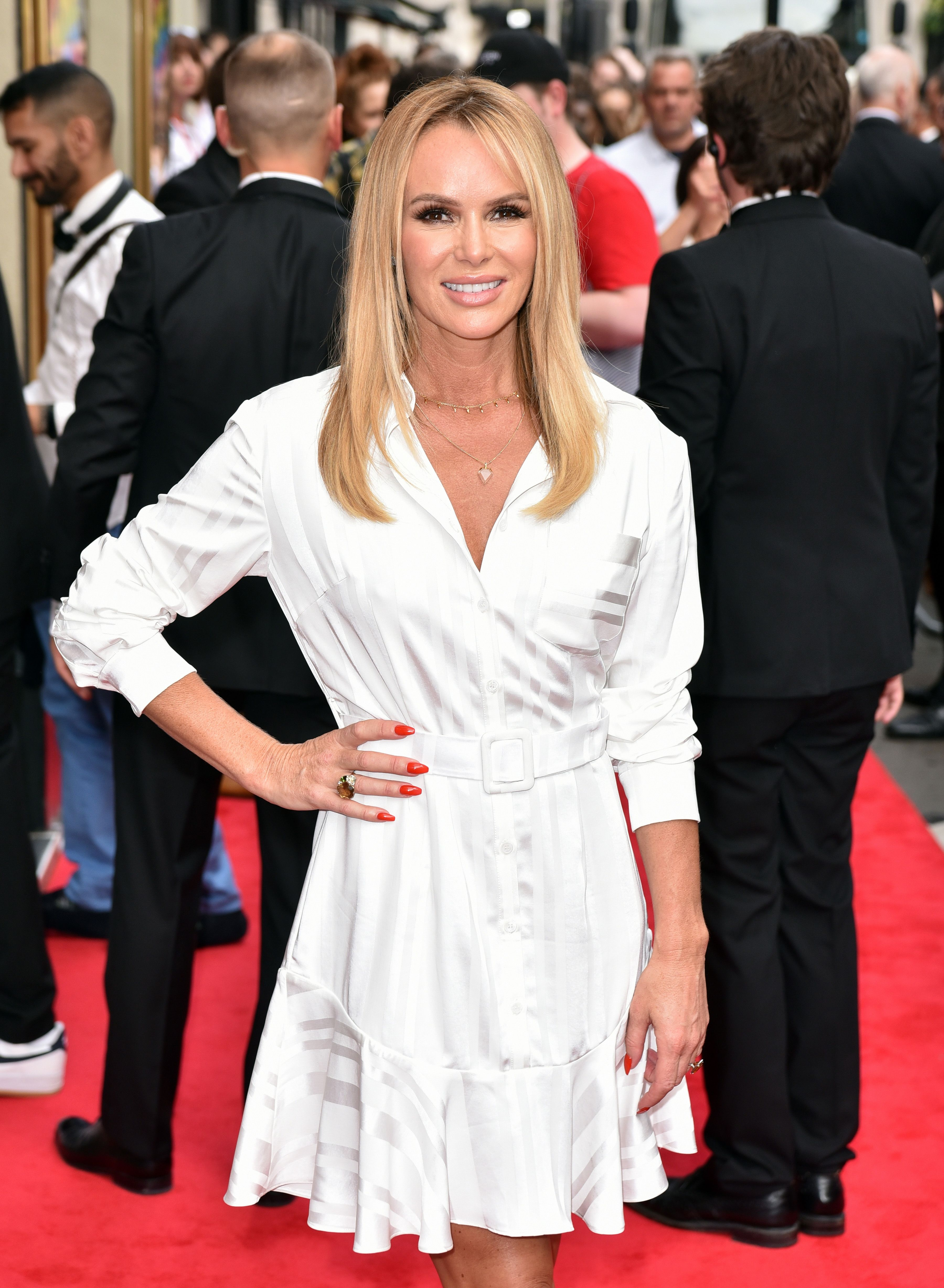 Amanda Holden has picked the perfect sale dress for late summer weddings