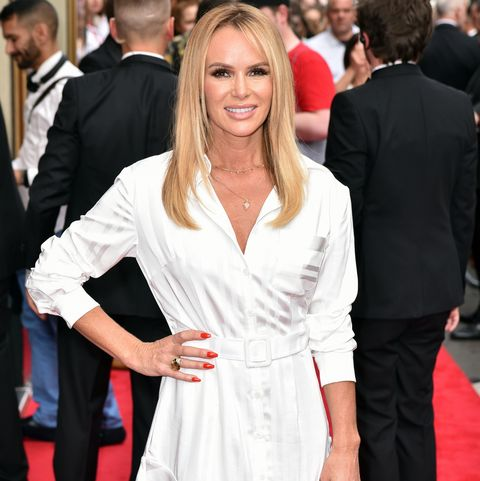 Amanda Holden attends the press night for Joseph and the...