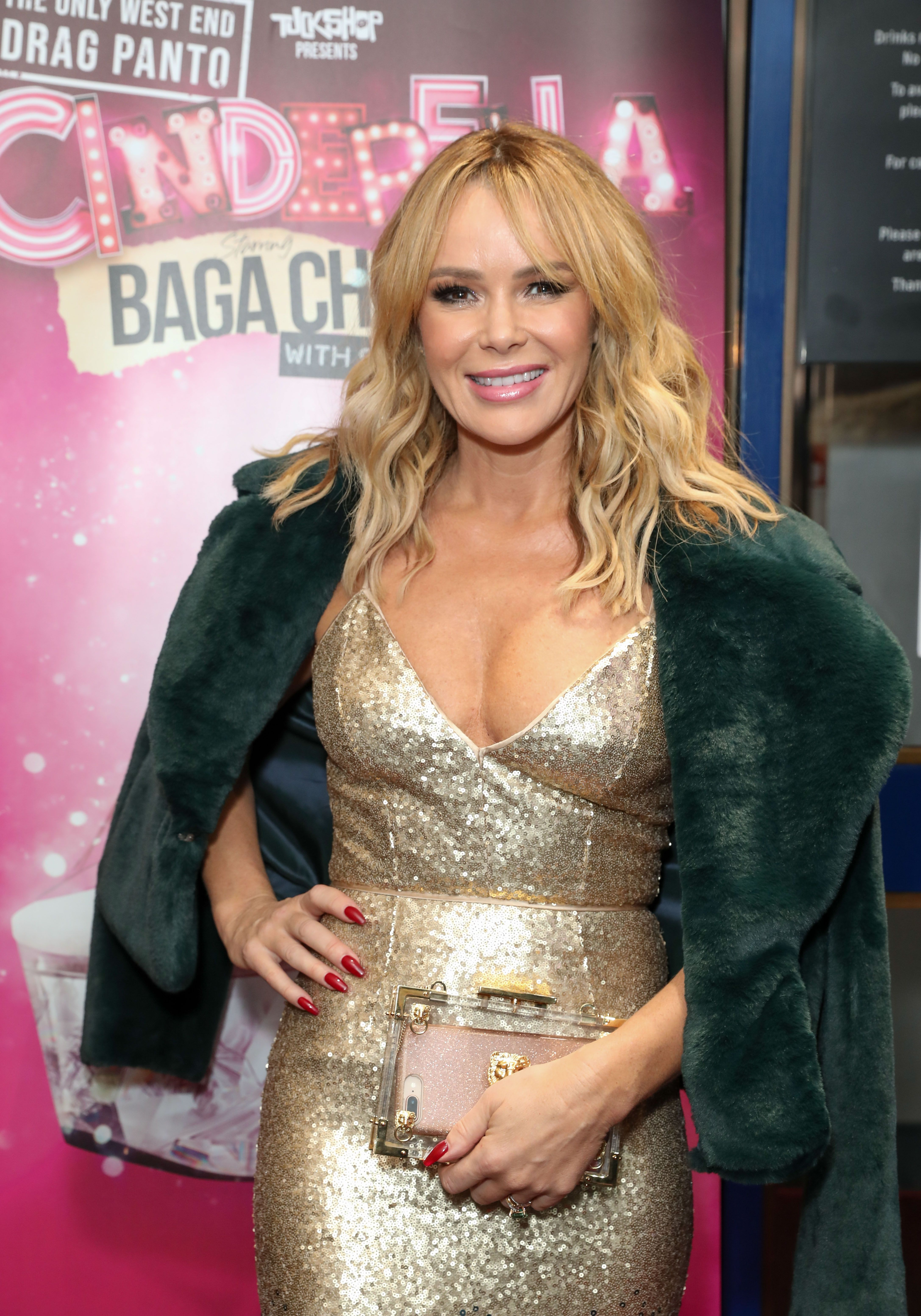 Amanda Holden Films amanda holden and her daughter wear matching outfits for