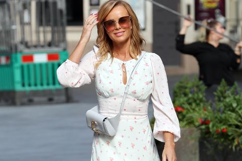 amanda holden on family holiday to france with david coulthard