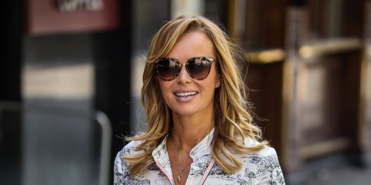 Amanda Holden shows off new hairstyle for romantic date night