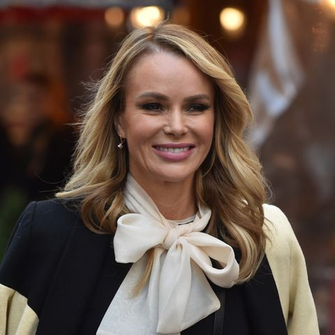 Amanda Holden's green dress is perfect for Christmas Day