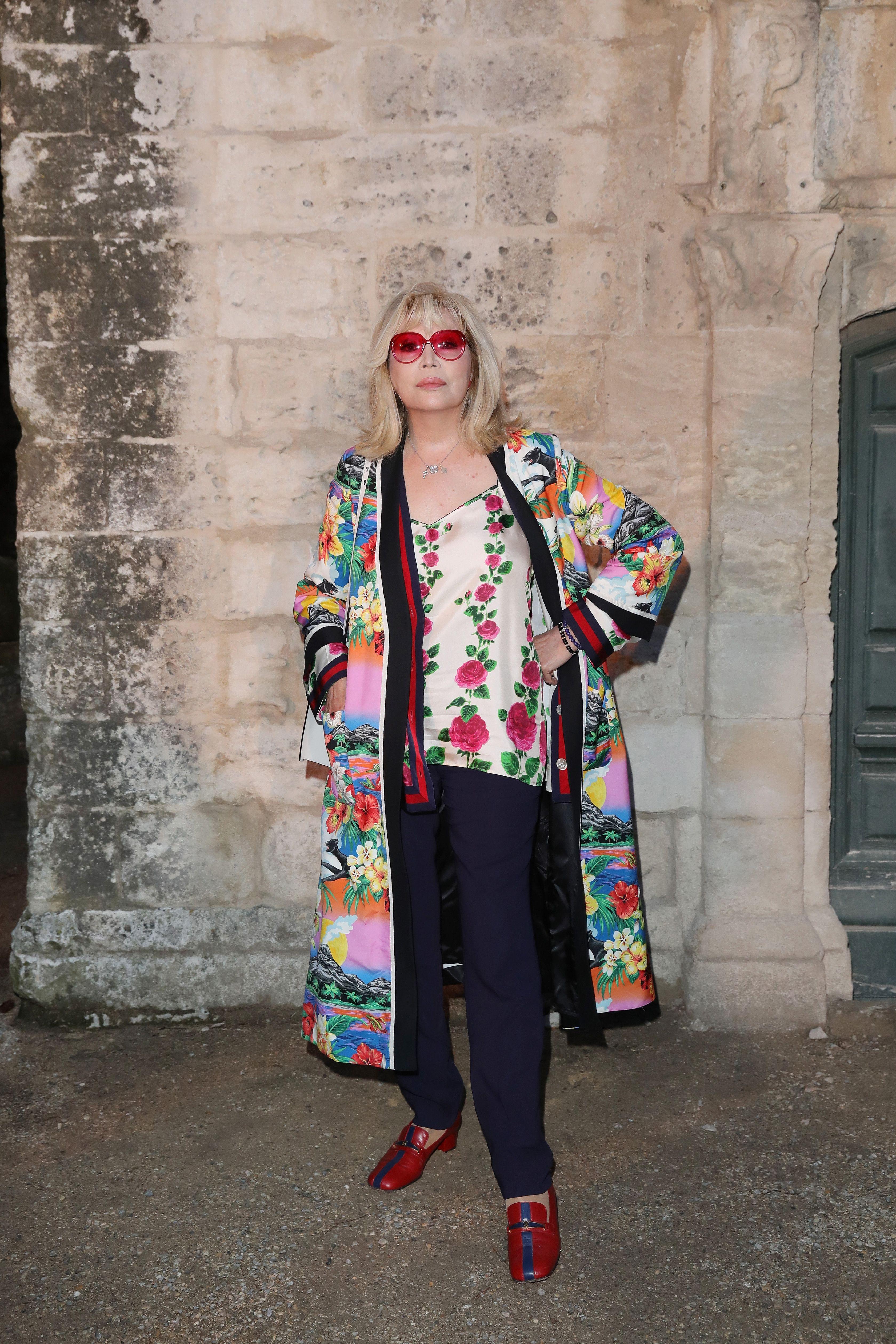 Famosos en el desfile de Gucci Crucero 2019