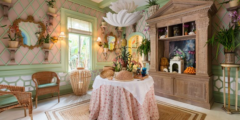 Amanda lindroth designs an orchid lovers dream room for Palm beach home and design show
