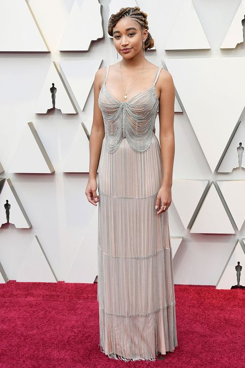 oscars 2019 the most naked dresses from the red carpet