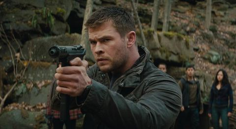 Amanecer rojo (2012) Chris Hemsworth