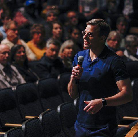 U.S. Rep. Justin Amash (R-MI) Holds Town Hall In Grand Rapids, Michigan