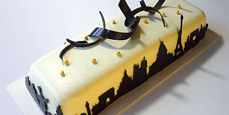 8 Amazing Cakes Inspired By Architecture French Pastries