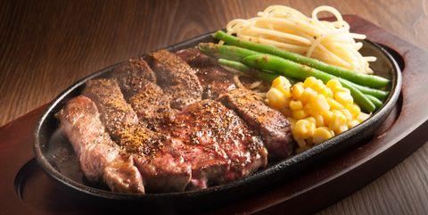 Dish, Food, Cuisine, Flat iron steak, Steak, Sirloin steak, Rib eye steak, Ingredient, Meat, Pork steak,
