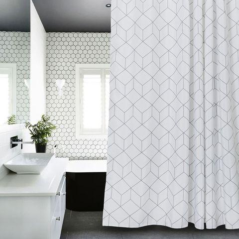 Las 20 cortinas de ducha por las que no querrás pasarte a mampara