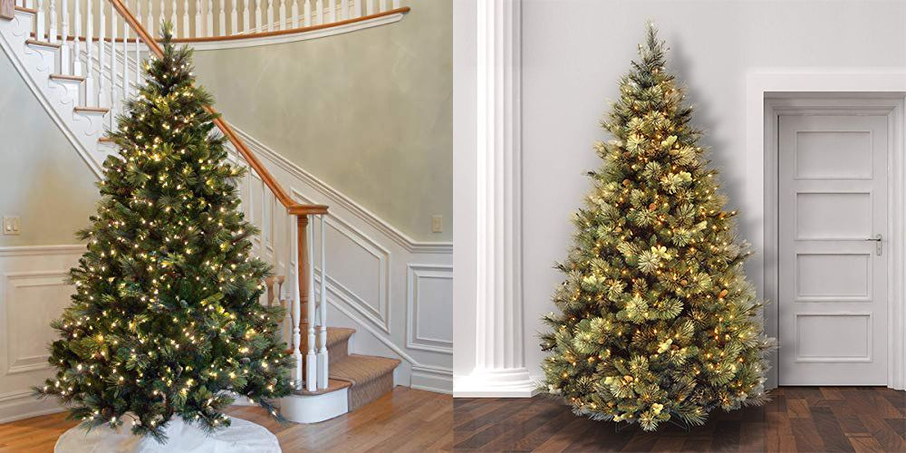 amazon is having a massive sale on artificial christmas trees right now