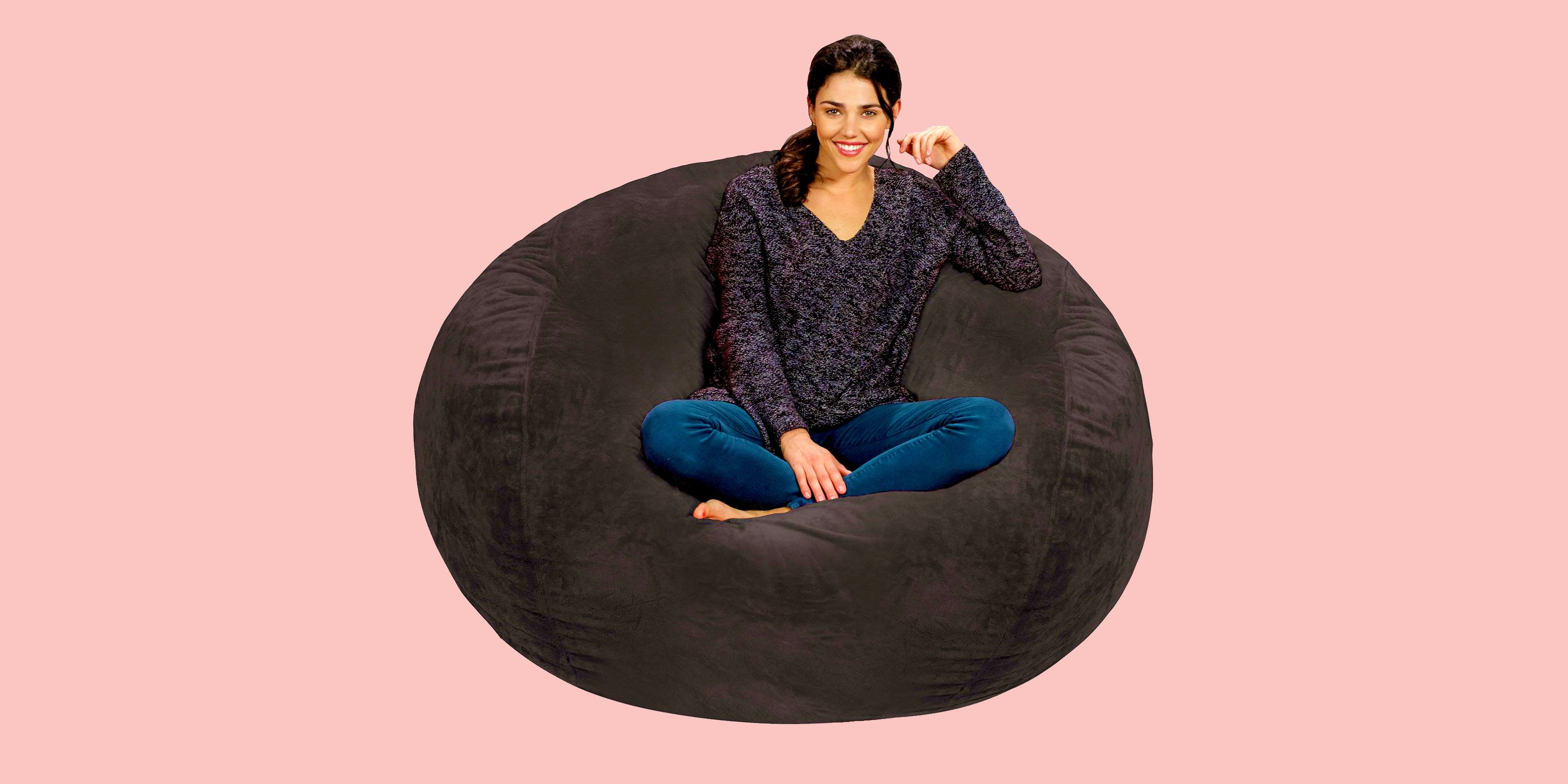 This 5-Foot Bean Bag Chair Has Nearly 800 5-Star Reviews; Here's Why