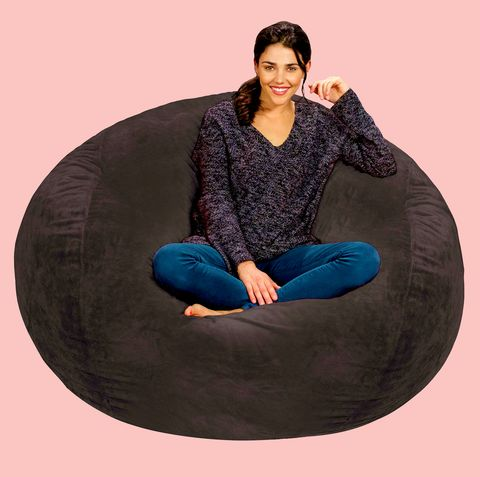 Terrific Chill Sacks 5 Foot Bean Bag Chair Has Nearly 800 5 Star Frankydiablos Diy Chair Ideas Frankydiabloscom