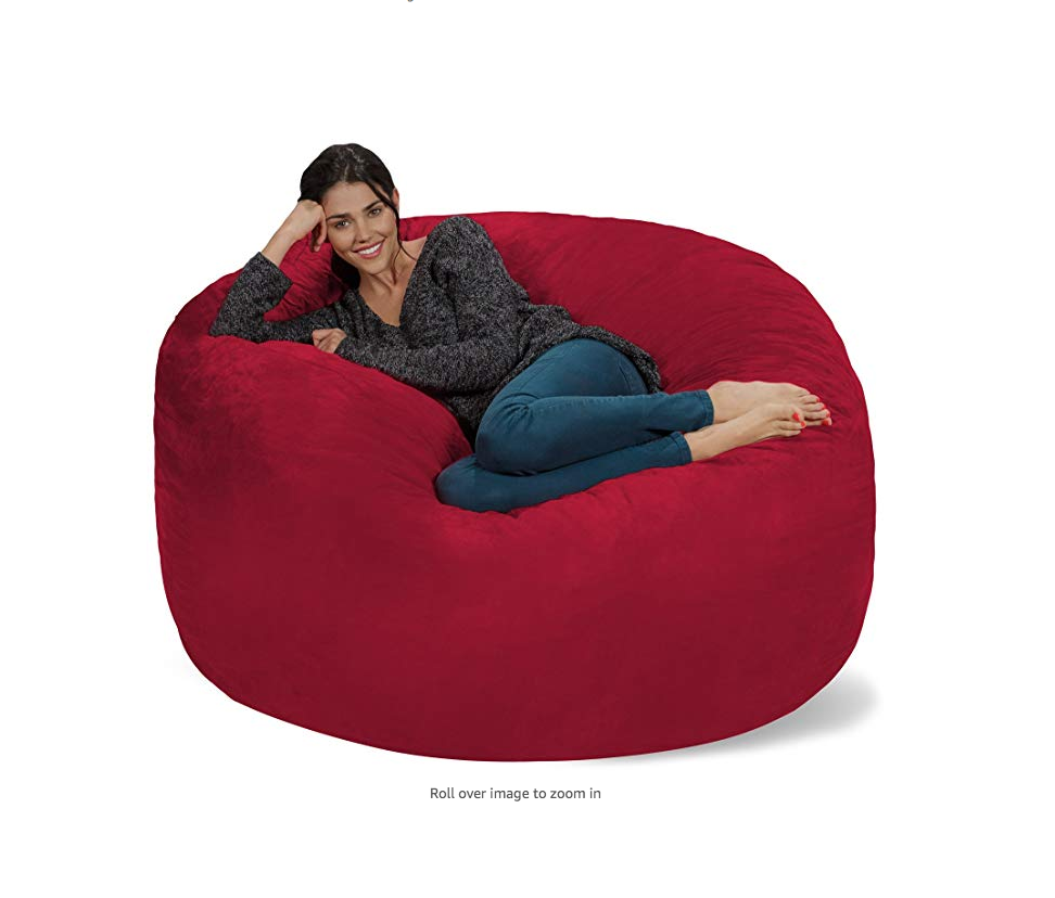 Phenomenal Chill Sacks 5 Foot Bean Bag Chair Has Nearly 800 5 Star Frankydiablos Diy Chair Ideas Frankydiabloscom