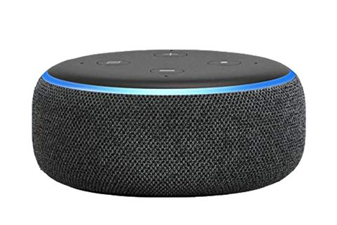 Amazon Echo Dot with a Ring doorbell