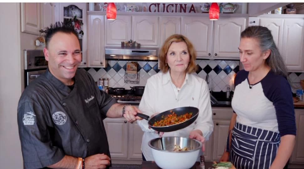 A First Look at Celebrity Chef Jonathan Scinto's Inspiring New Cooking Show on Amazon