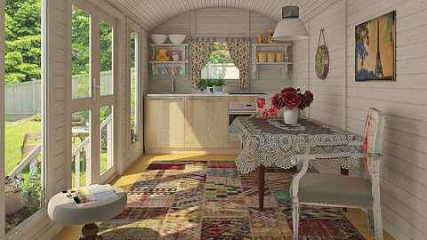 Interior design, Room, Property, Building, Floor, Furniture, Tile, House, Wall, Home,