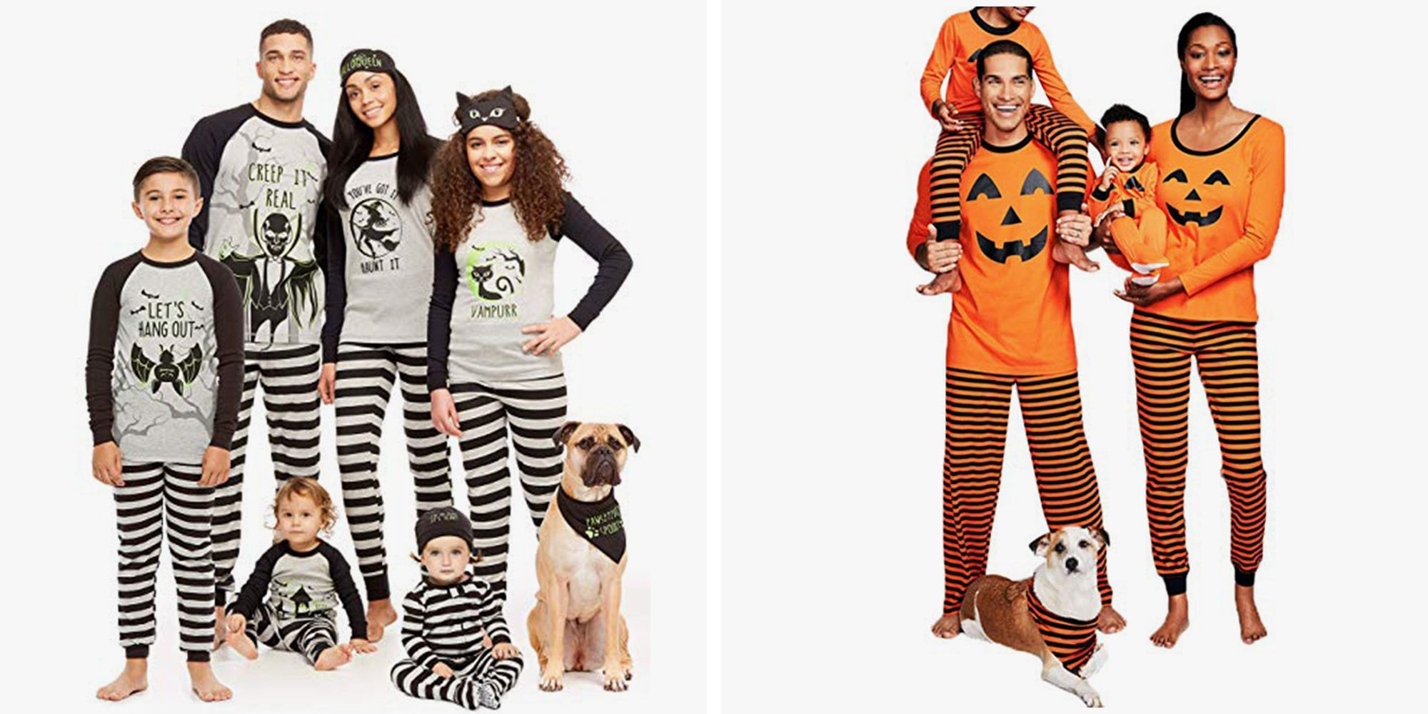 You Can Get Matching Halloween Pajamas for Everyone in Your Family on Amazon
