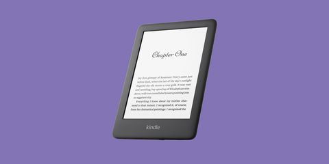 All new Kindle with front light