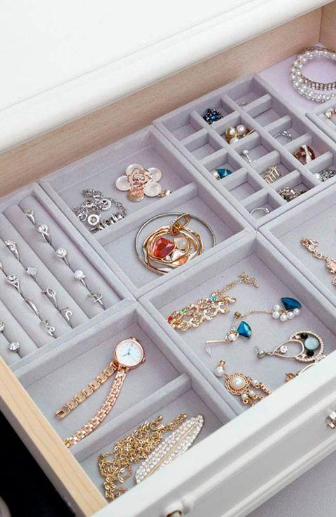 Ideas y joyeros para tener las joyas y la bisutería siempre ordenada