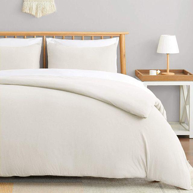 neutral toned bedroom