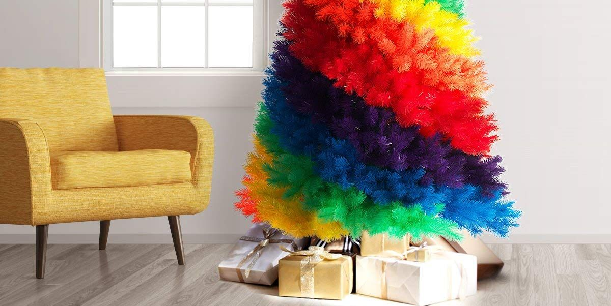 Rainbow Christmas Trees Are One Of 2019 S Brightest Trends