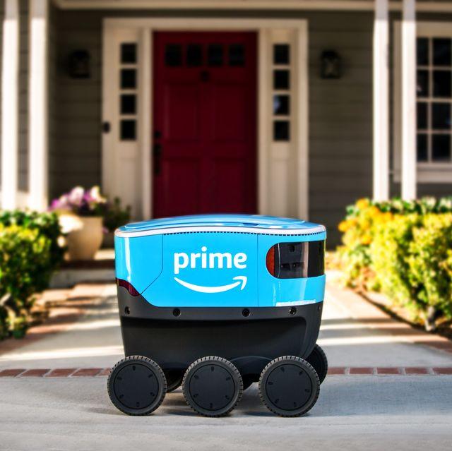 AmazonScout robot repartidor