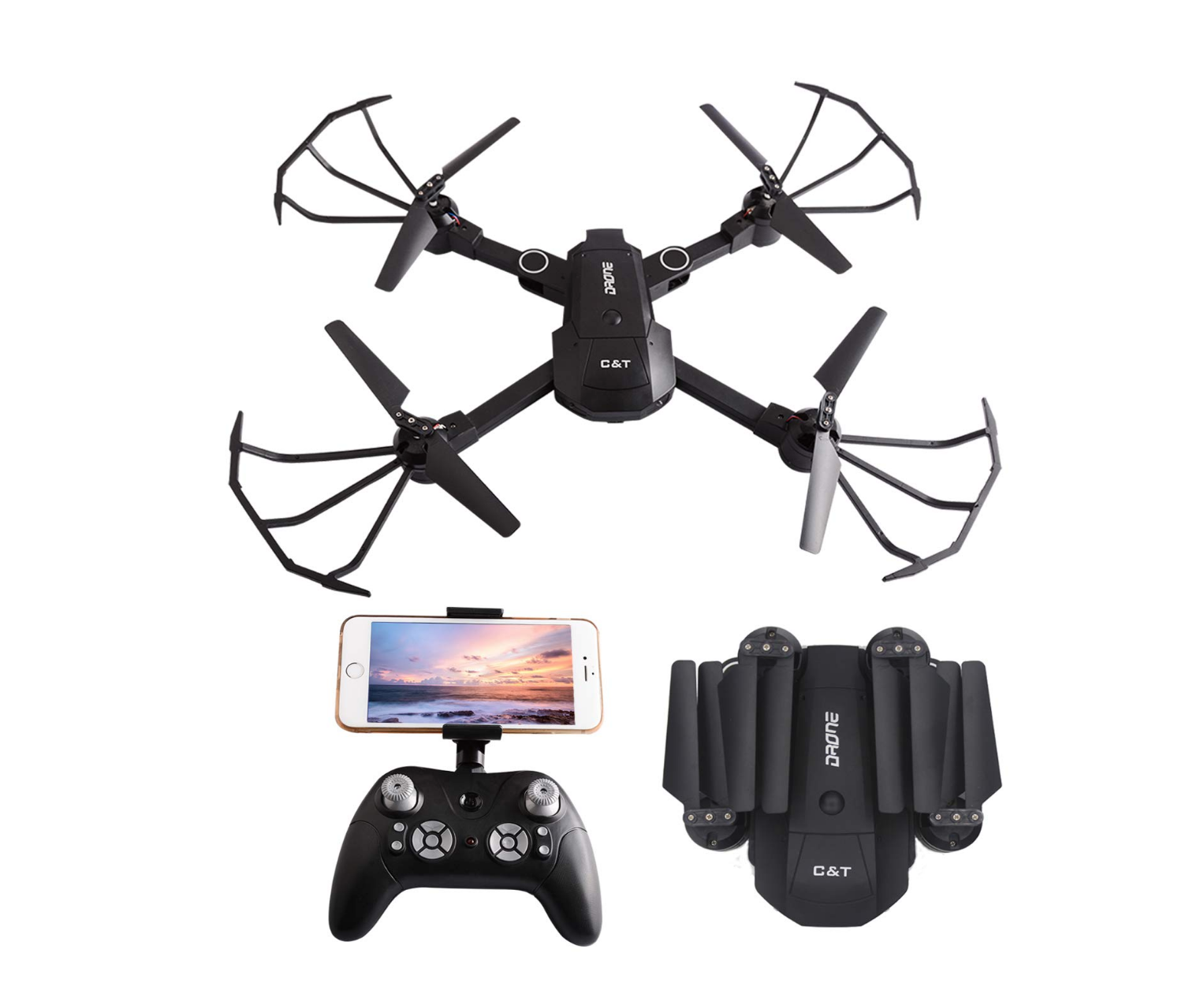 This Quadcopter Drone with 1080p camera in Amazon's Hidden Gems sale is under £32