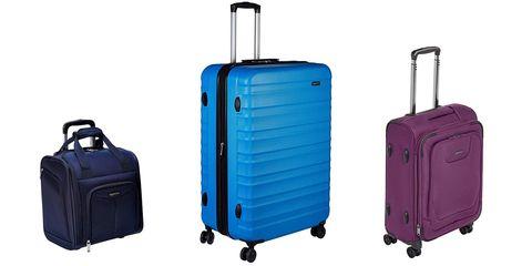 best luggage brands - amazonbasics luggage