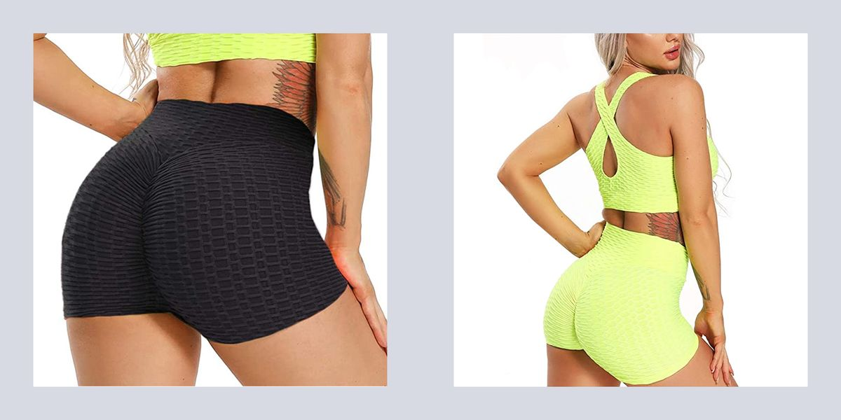 Ya Know Those Viral Butt-Lifting Leggings From Amazon? Well, They Come In Shorts Too