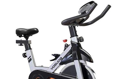 a stationary bike