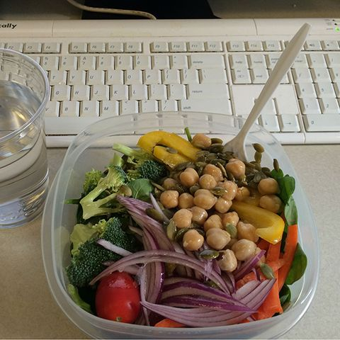 Food, Vegan nutrition, Produce, Whole food, Office equipment, Ingredient, Natural foods, Vegetable, Food group, Computer keyboard,