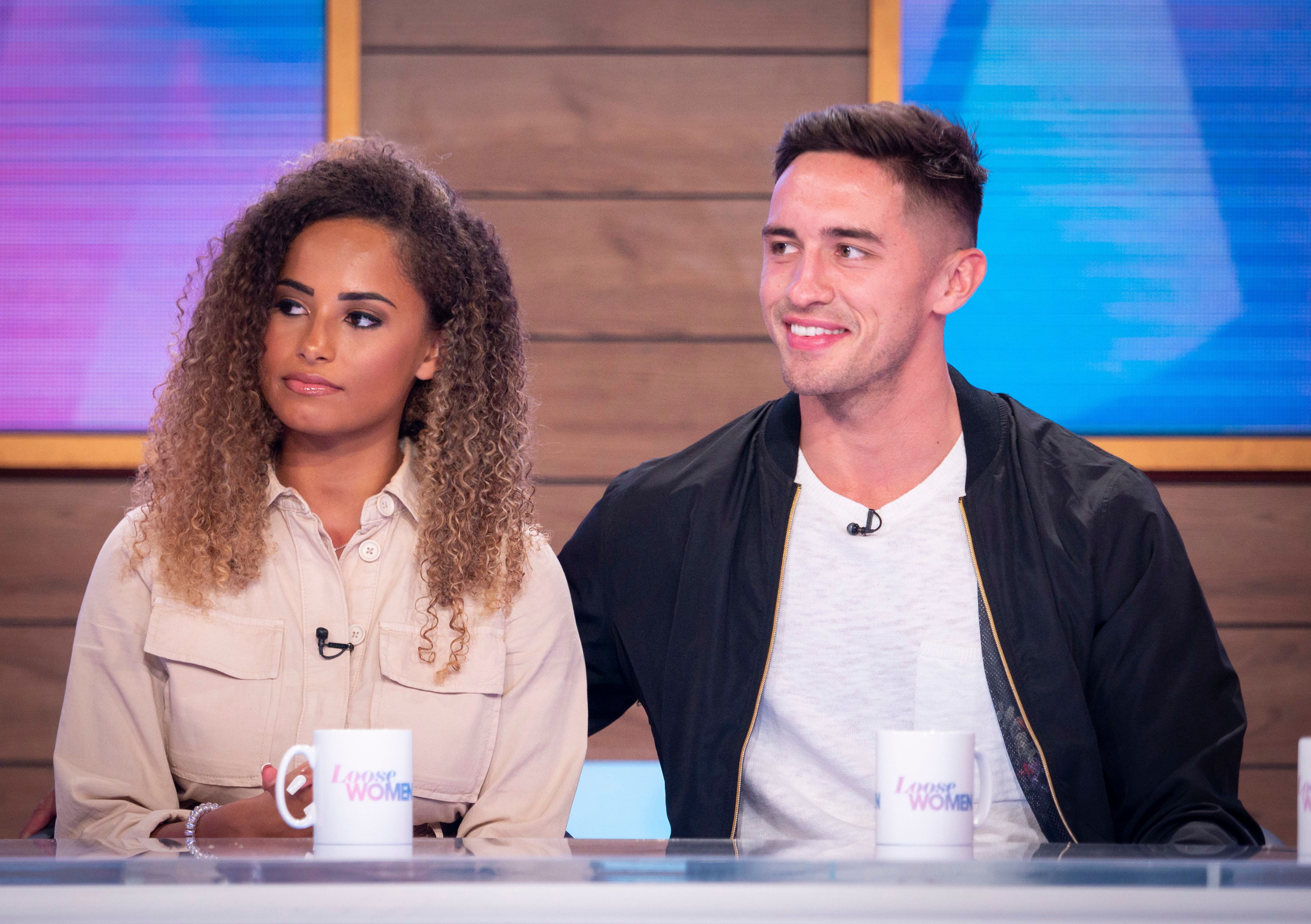 Love Island couple share where it went wrong for Amber Gill and Greg O'Shea