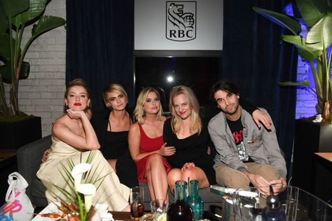 RBC Hosted 'Her Smell' Cocktail Party At RBC House Toronto Film Festival 2018